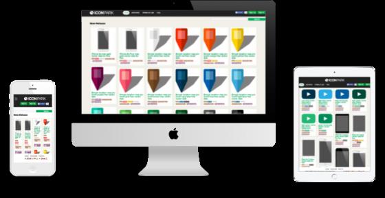 ユーザー参加型webサイト制作 レスポンシブデザイン